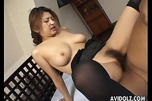 Busty japanese sweetheart wishes in the chips hard