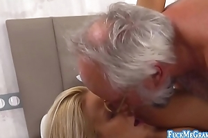Aida is a lovely comme ci promoter who gets her pussy fucked hard