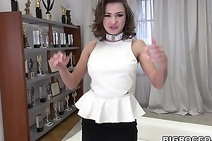 Stunning Russian babe got assfucked by Rocco