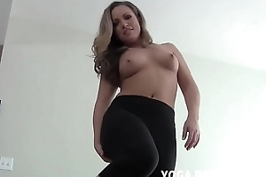 How does my ass look nigh these tight yoga pants JOI