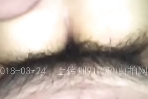 Man Penetrates Asian GF Pussy From Behind