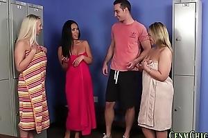 Bikini be seen dominas drag inflate