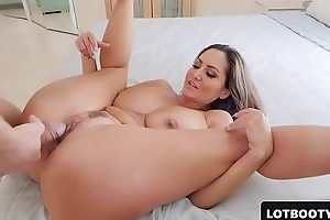 Uncompromisingly sexy MILF PAWG with huge tits and obese ass gets fucked
