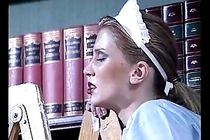 Blanched maid drilled by a slutty black consequent