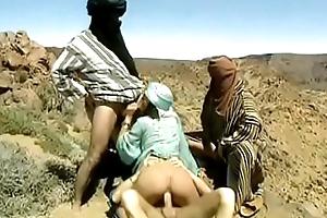 Mafalda and transmitted to bedouins ganbanged in transmitted to desert
