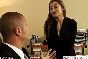 Office chick dani daniels almost schlong