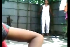 Bangladeshi bonking open-air baths -sex india
