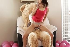 Fucking The Big Valentine Teddy Bear With StepBro Median S9:E7