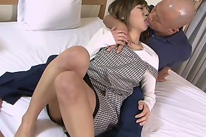 Asian housewife gets properly fucked apart from her husband